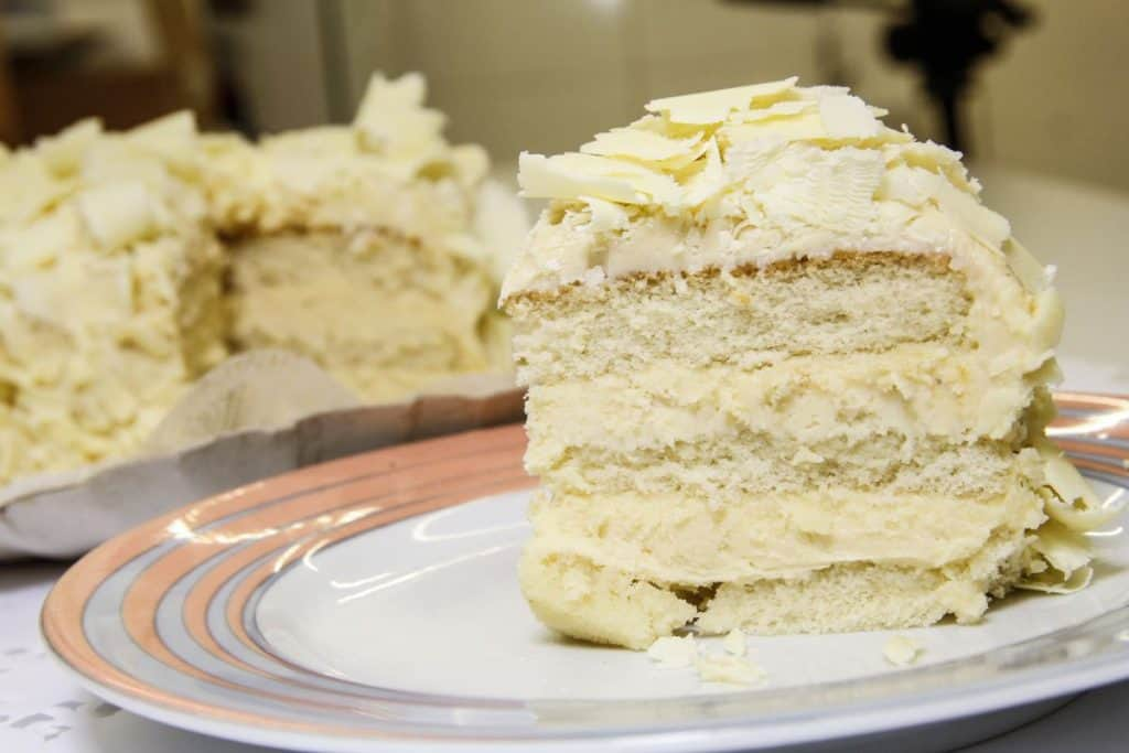 Recheio bolo trufado chocolate branco