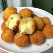 Receita de Bolinho de queijo