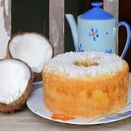 Receita de Bolo rápido com coco