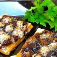 Receita de Tarteletes de Cebola Caramelizada e Queijo