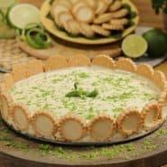 Receita de Torta de limão com chocolate branco