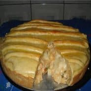 Receita de Torta cremosa de palmito