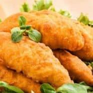 Receita de Filezinho sassami de frango empanado