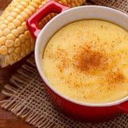 Receita de Canjica de milho fit (curau)