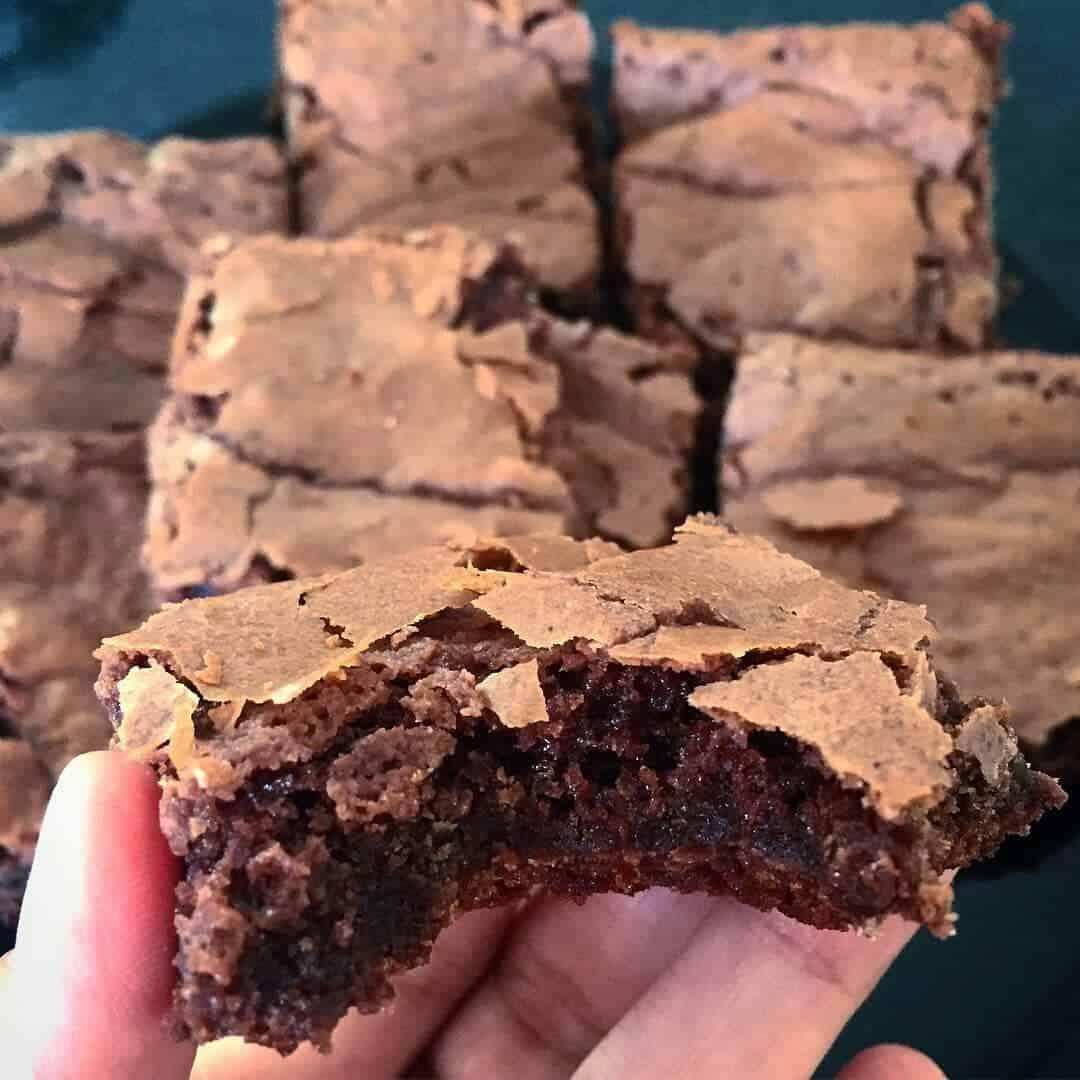 Receita de brownie