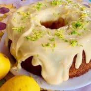 Receita de Bolo fofinho de limão