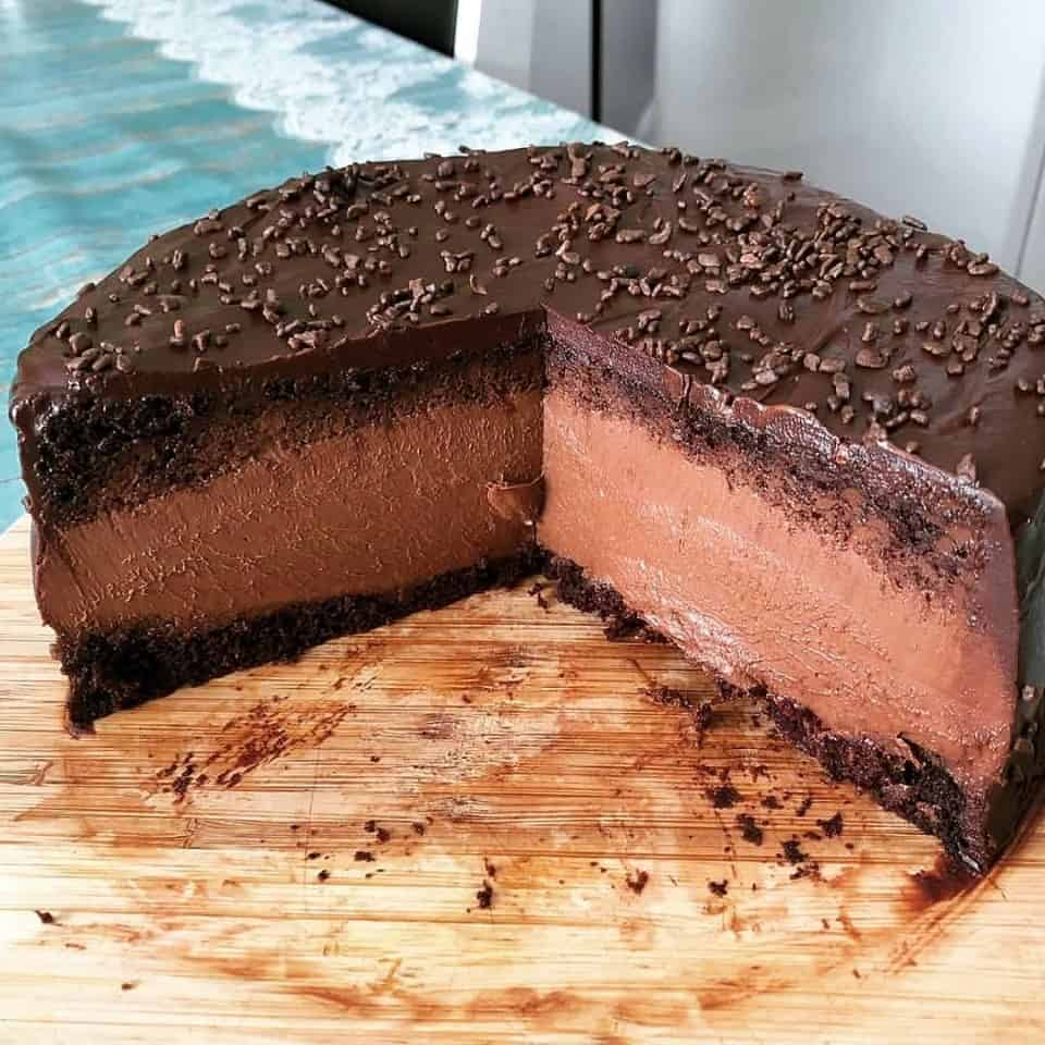 Receita de bolo de mousse