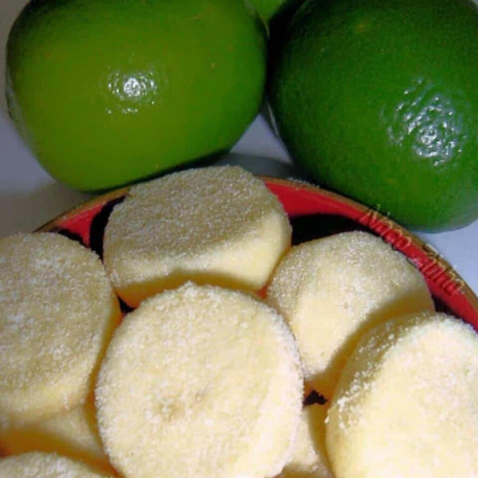 Receita de biscoitos de limão