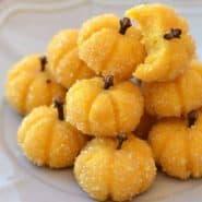 Receita de Docinho de abóbora com coco