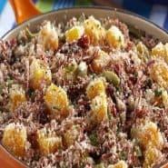 Receita de Farofa de carne seca e banana da terra