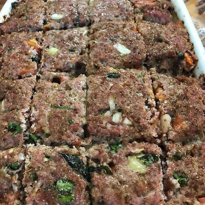 Receita de Quibe de forno low carb