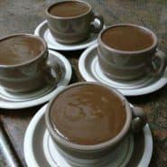 Receita de Chocolate quente cremoso com maizena