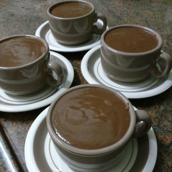 Receita de chocolate cremoso com maizena