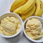 Receita de Sorvete de banana