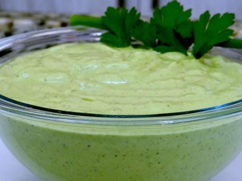 Receita de molho verde para churrasco