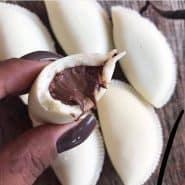 Receita de Pastel de Leite Ninho com Nutella