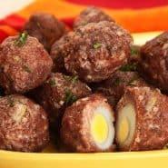 Receita de Almôndega de Carne com ovo