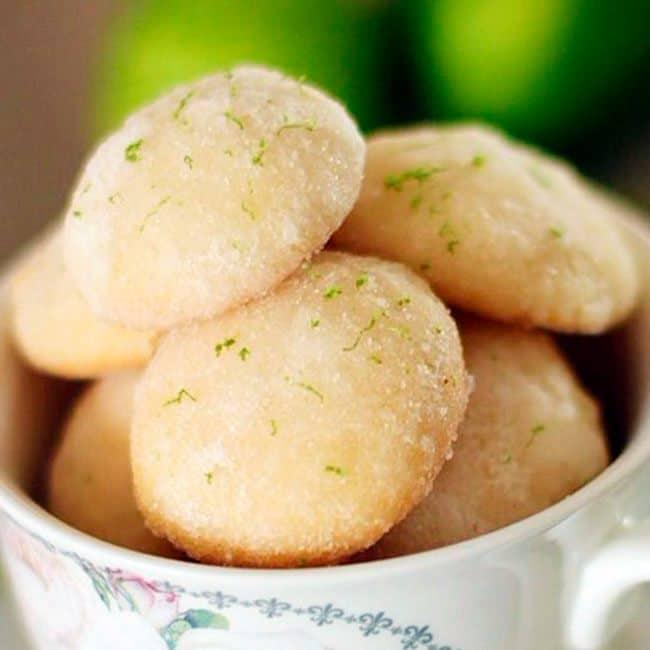Receita de biscoito de limão com maizena