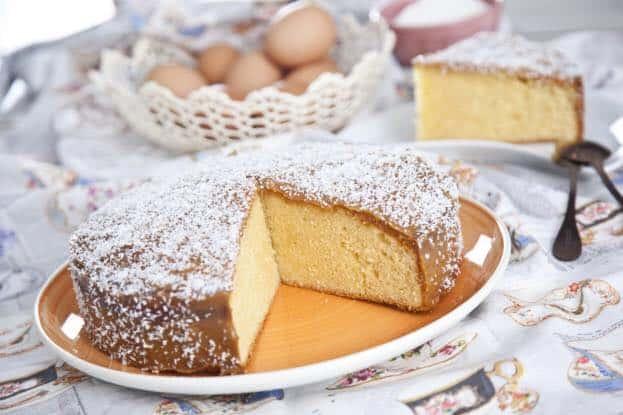 Receita de bolo de coco da paz