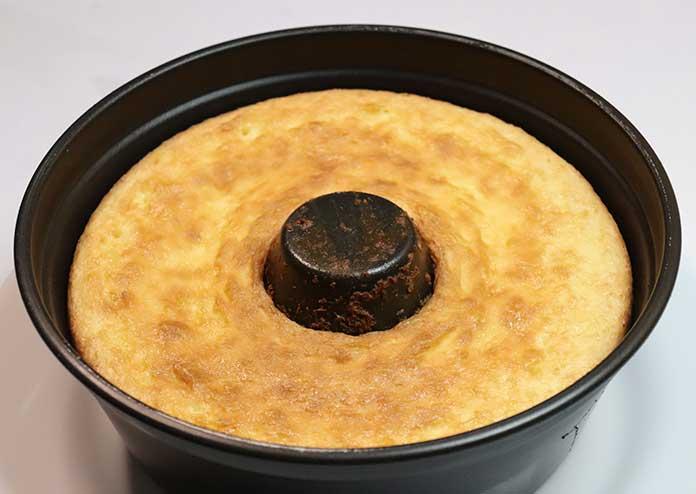 Receita de Bolo de coco low carb de liquidificador