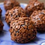 Receita de Brigadeiro Gourmet Chocolate Meio Amargo