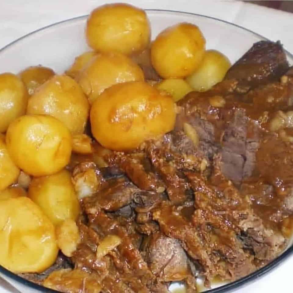 Receita de Receita de Carne de Panela de pressão