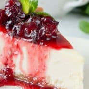 Receita de Cheesecake de frutas vermelhas