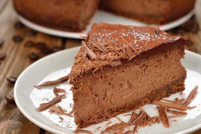 Receita de Cheesecake gelado de chocolate com café