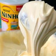 Receita de creme de leite ninho para bolos