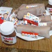 Receita de Geladinho de Nutella