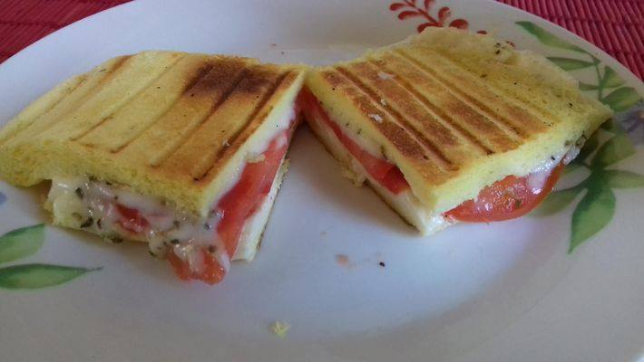 Receita de Panini Low carb