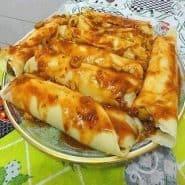 Receita de Panqueca com carne Moída Low Carb