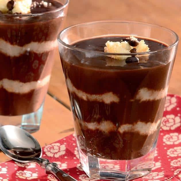 Receita de Pavê de Chocolate e Café