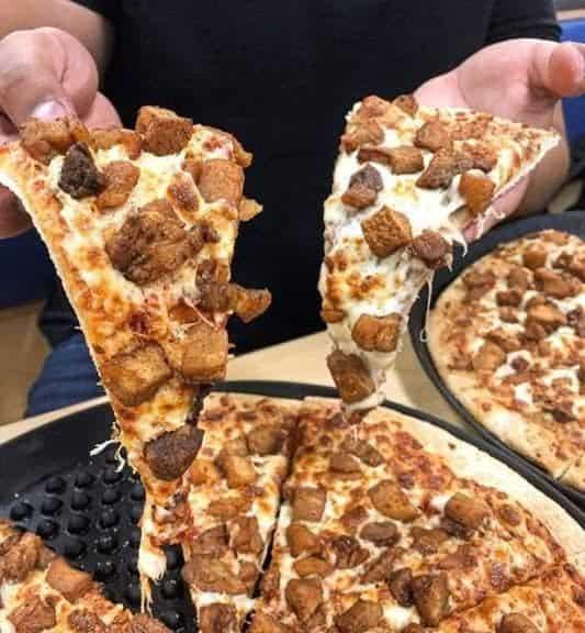 Receita de pizza de torresmo