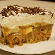 Receita de Torta Banoffee
