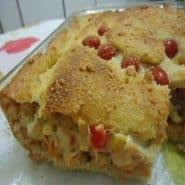 Receita de Torta salgada de legumes
