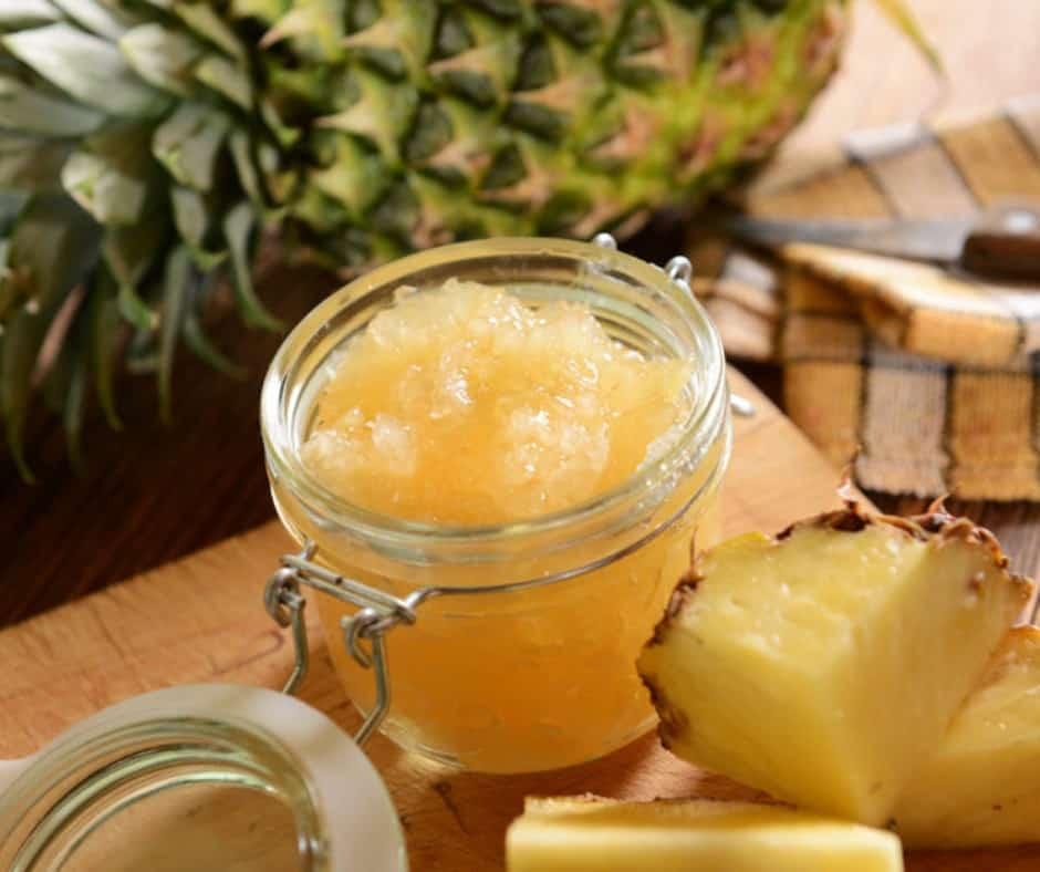 Receita de Geleia de abacaxi