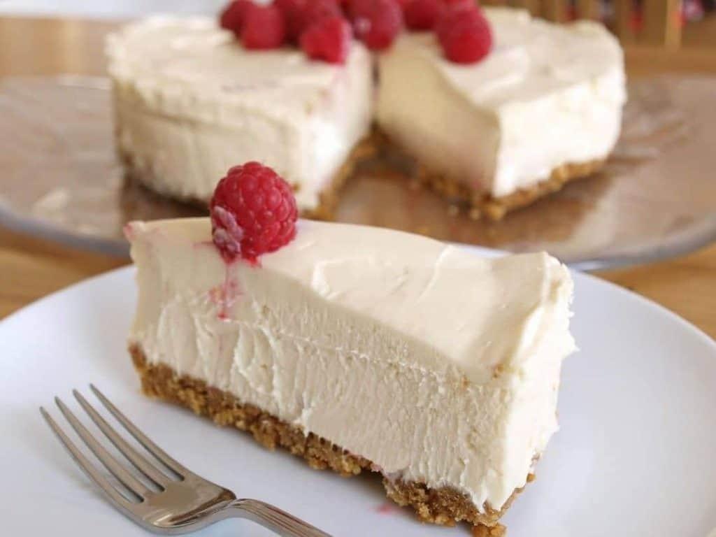 Receita de Torta gelada de chocolate branco