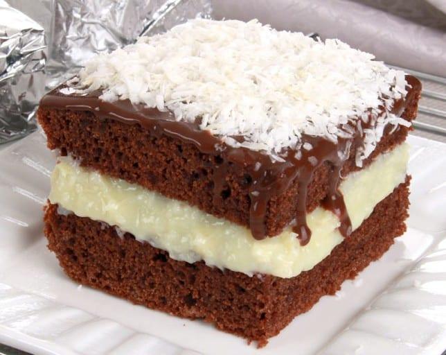 Receita de bolo prestigio com chocolate