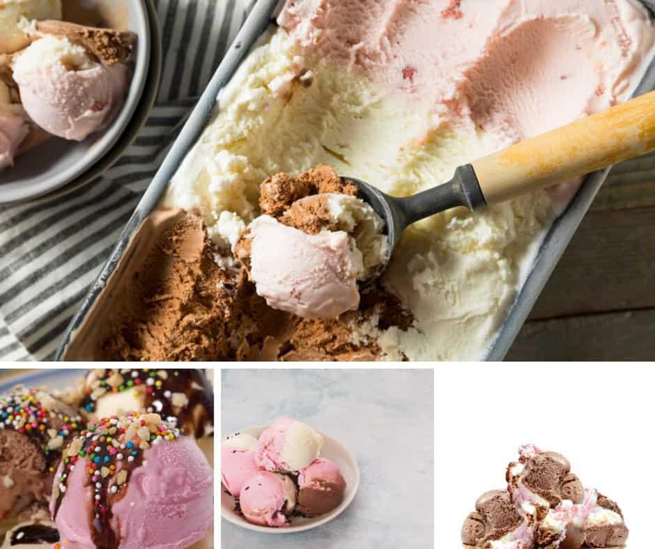 Receita de sorvete napolitano caseiro