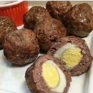 Receita de Bolinho de Carne com Ovo