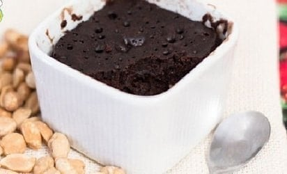 Receita de Brownie de Microondas