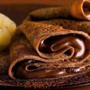 Receita de Crepe de Chocolate