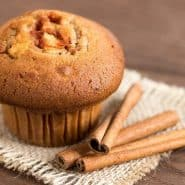 Receita de Cupcake de Maçã e Canela Sem Glutén