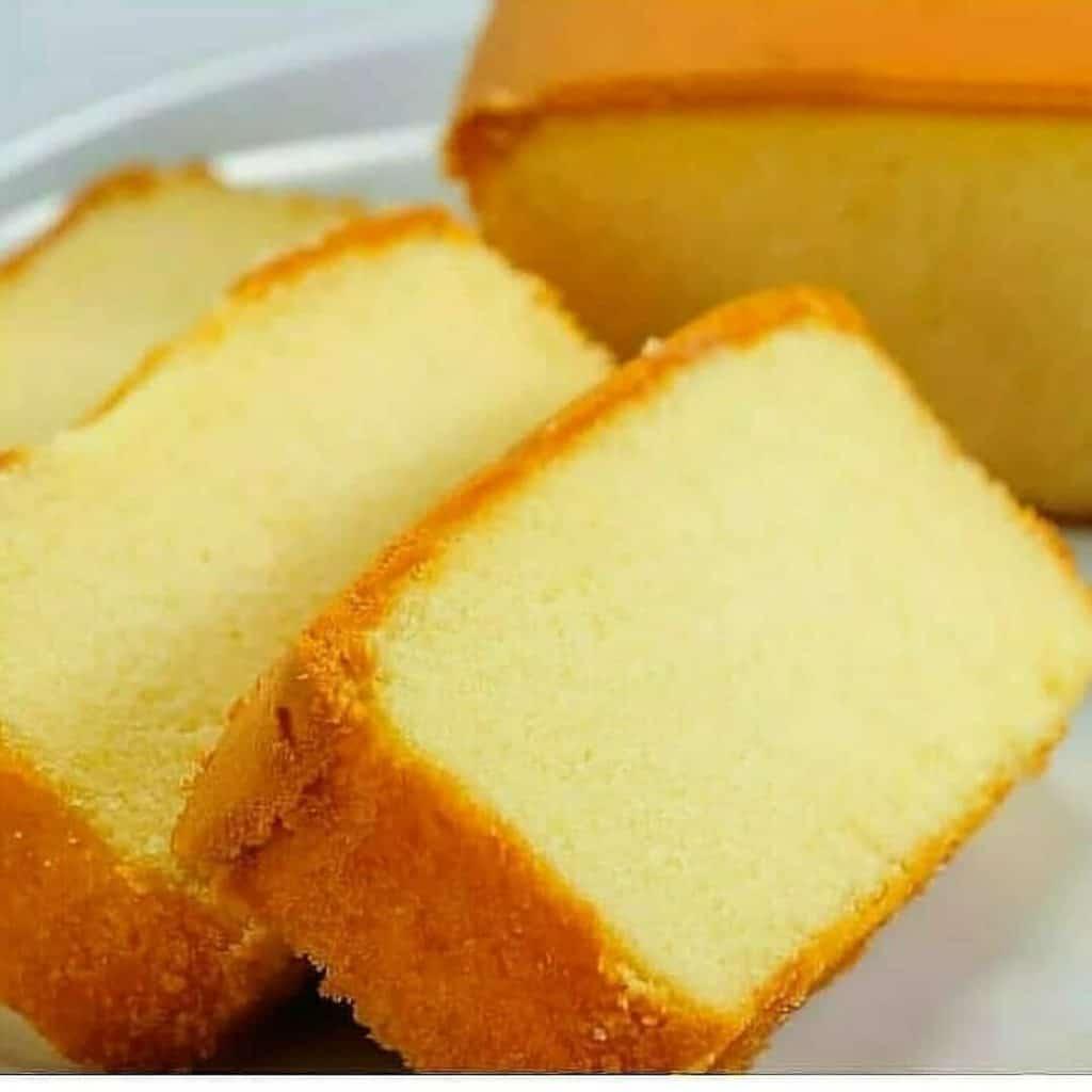 Massa de bolo amanteigada