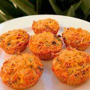 Receita de Muffin Cremoso de Frango
