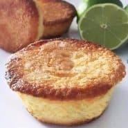 Receita de Muffins de Limão e Iogurte sem Glúten