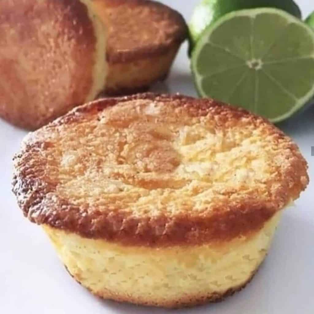 Muffins de Limão e Iogurte sem Glúten