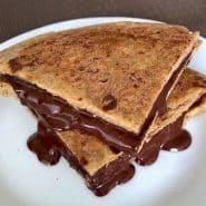 Receita de Panqueca com Chocolate