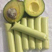 Receita de Sacolé de Abacate